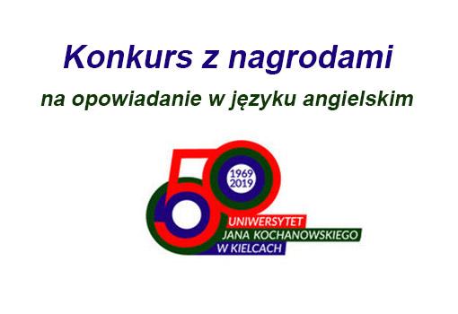 Logo 50-cio lecie UJK